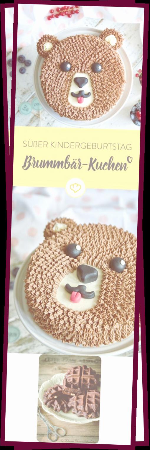 Photo of Suer Kindergeburtstag Mit Brummbr-Schoko-Torte –  Einhörner kommen und gehen …