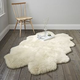 Long Hair Sheepskin Quarto Rug From The White Company
