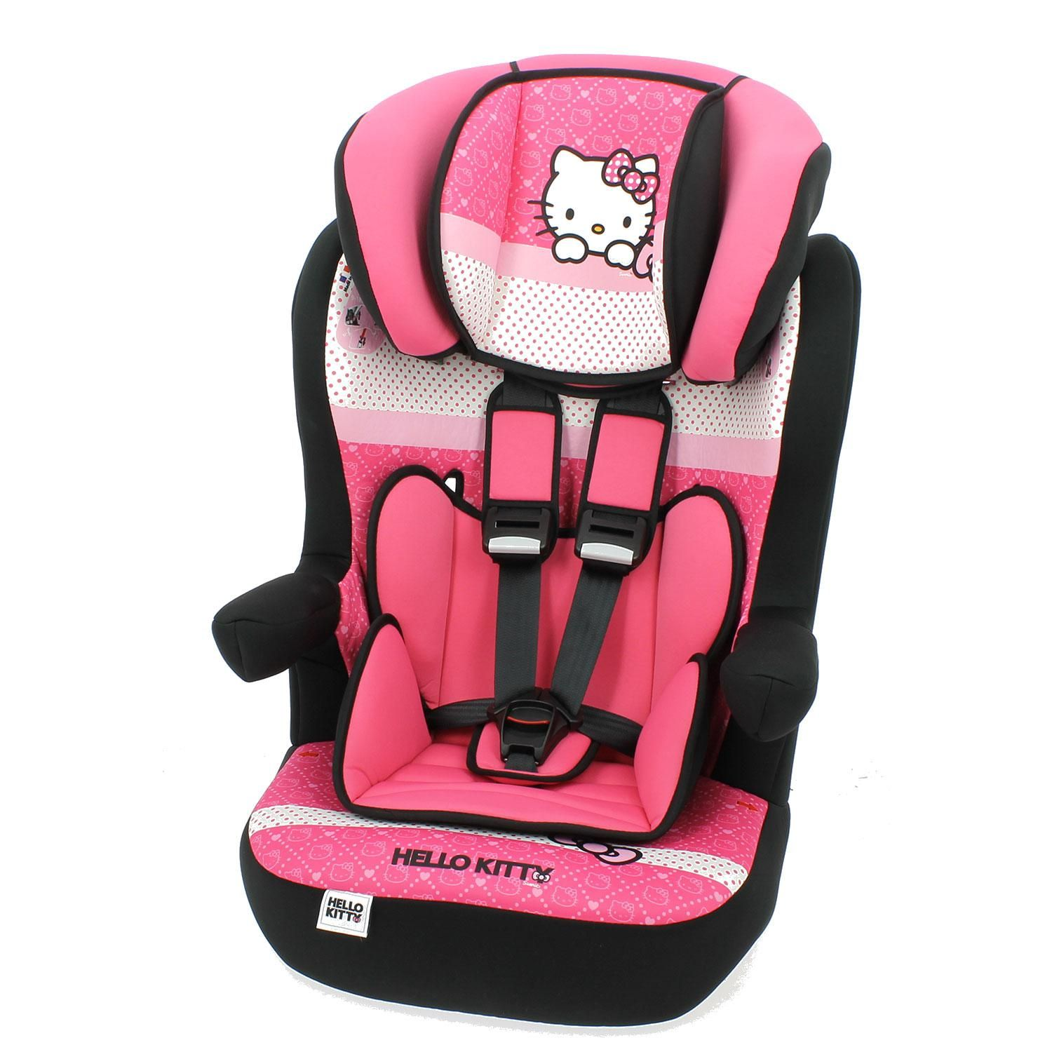 Siege Auto Inclinable Hello Kitty Groupe 1 2 3 Fabrication
