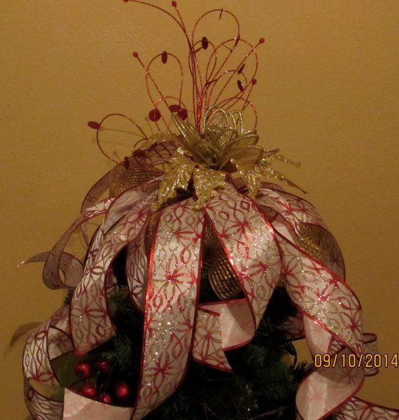 Christmas Tree Topper by GodsLovingGrace on Etsy, $3500