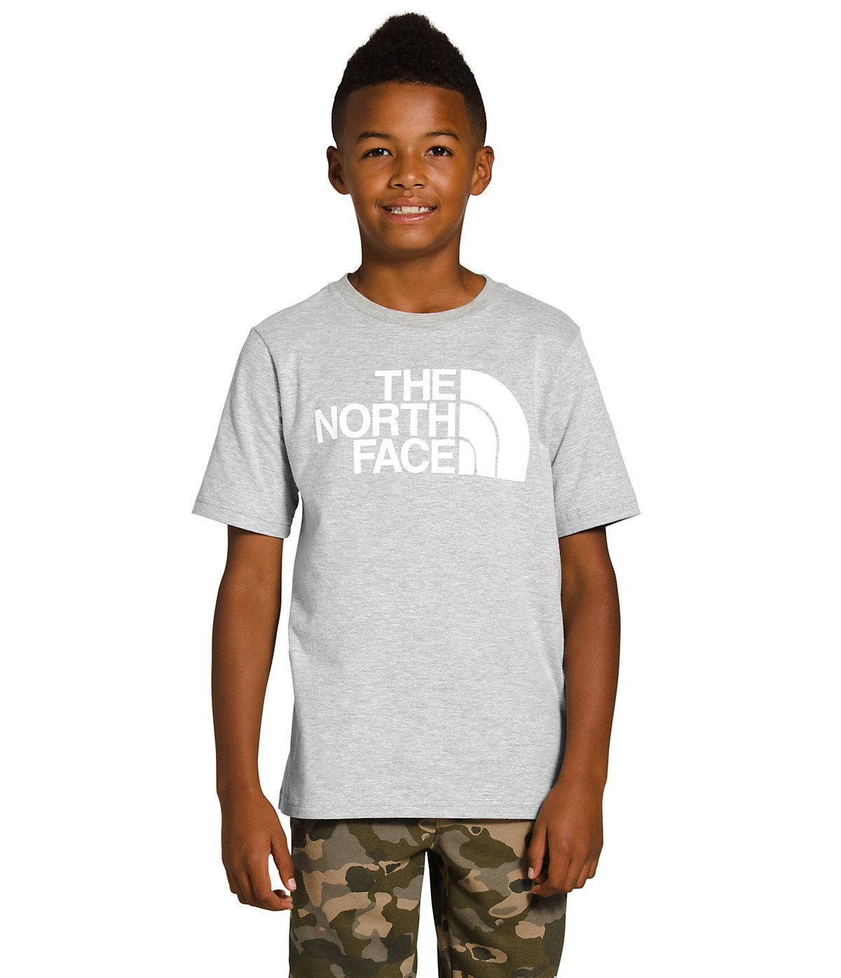 The North Face Boys Short Sleeve Half Dome T Shirt The North Face Shirts Strong Women Fitness