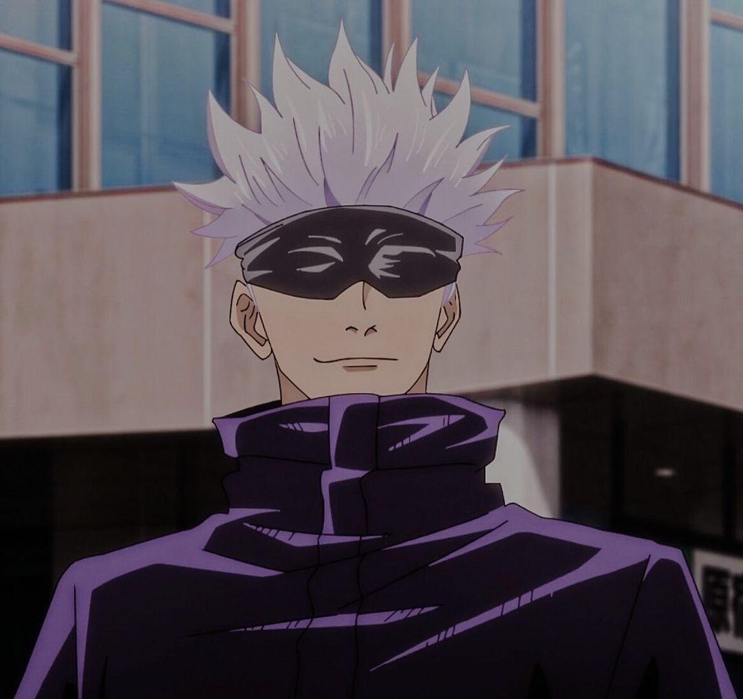 Satoru Gojo Icon Anime Naruto Jujutsu Anime