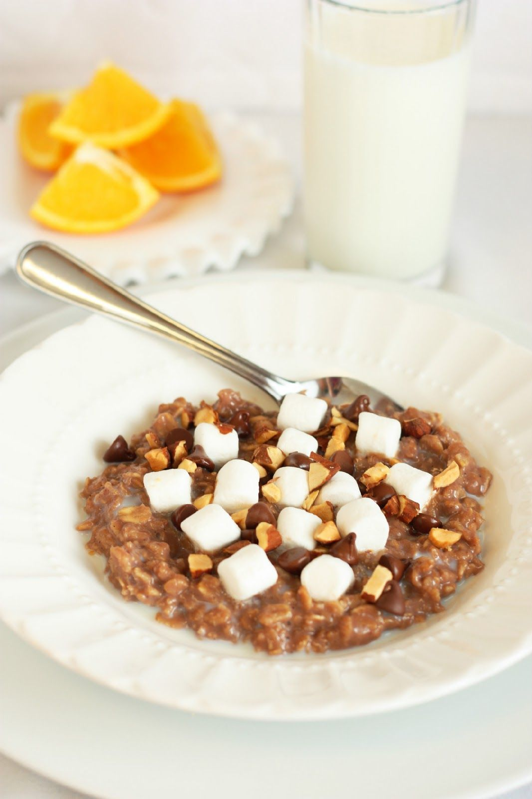 Cooking Classy: Rocky Road Oatmeal
