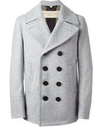 Grey Pea Coat | Jackets | Pinterest | Grey pea coat