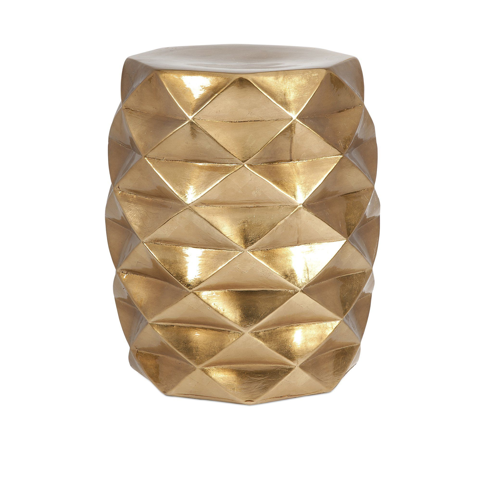 IK Geometric Garden Stool   Stools and Products