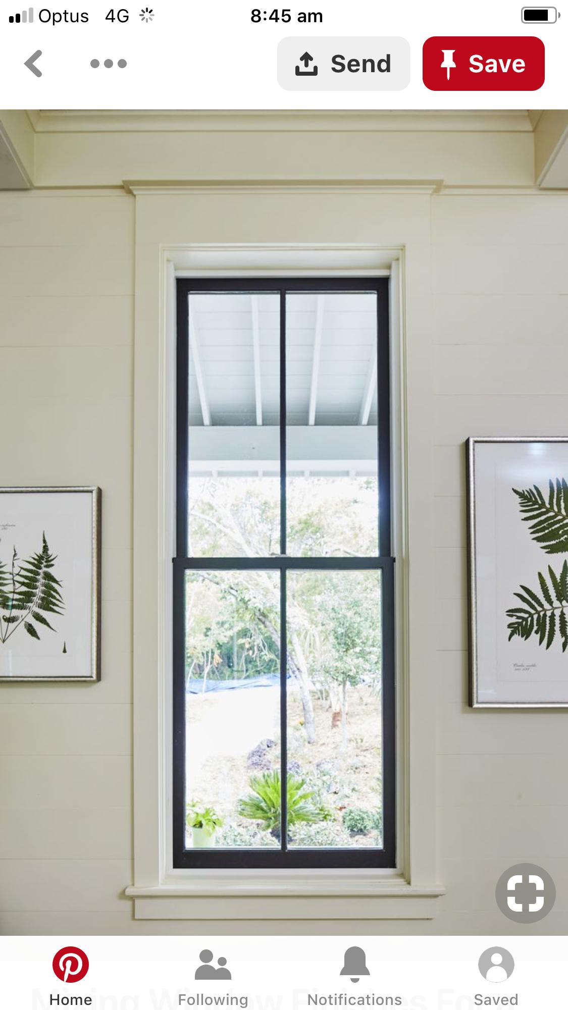 Pin By Cheryl O Neill On Windows Interior Windows Black Window Trims Interior Window Trim