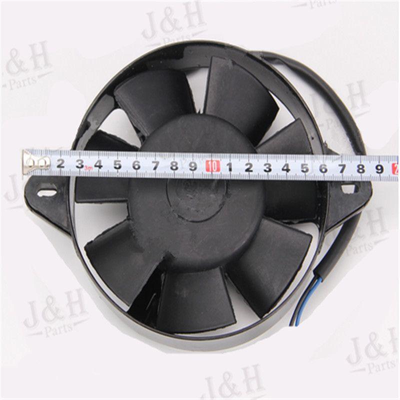 Oil Cooler Water Cooler Radiator Electric Cooling Fan Dirt Bike