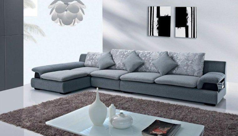 Déco moderne pour le salon  85 idées avec canapé gris Salons and