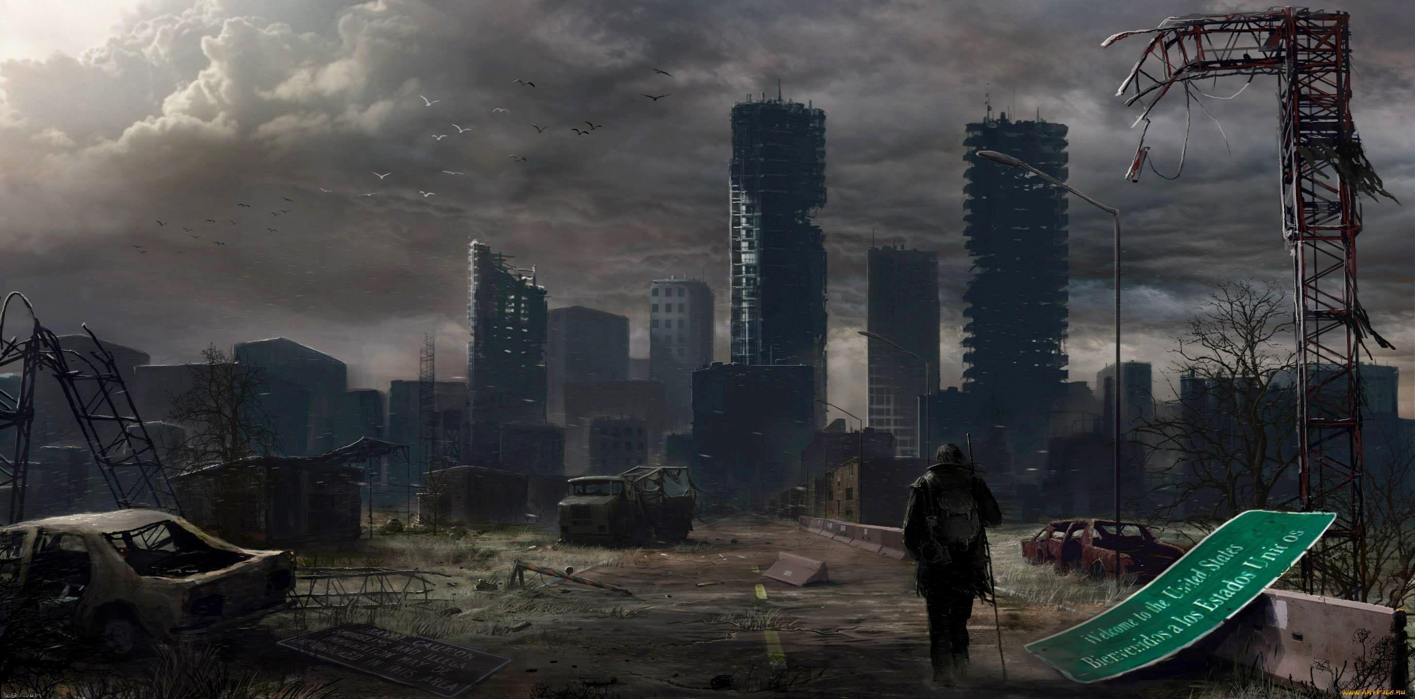 Смыслом прикольные, анимация постапокалипсис