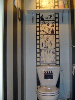WC cine | toilettes originales | Pinterest | Toilet design, Toilet ...