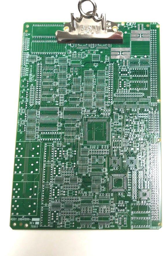 TECHIE CLIPBOARD Recycled Circuit Board Geekery MC24 #logicboard