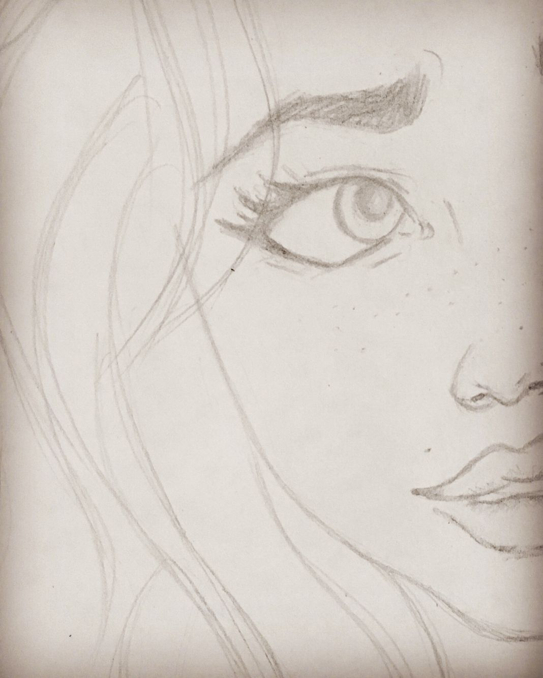 Drawing Pencil Sketch Pretty Girl Paint Marcia By Mercy