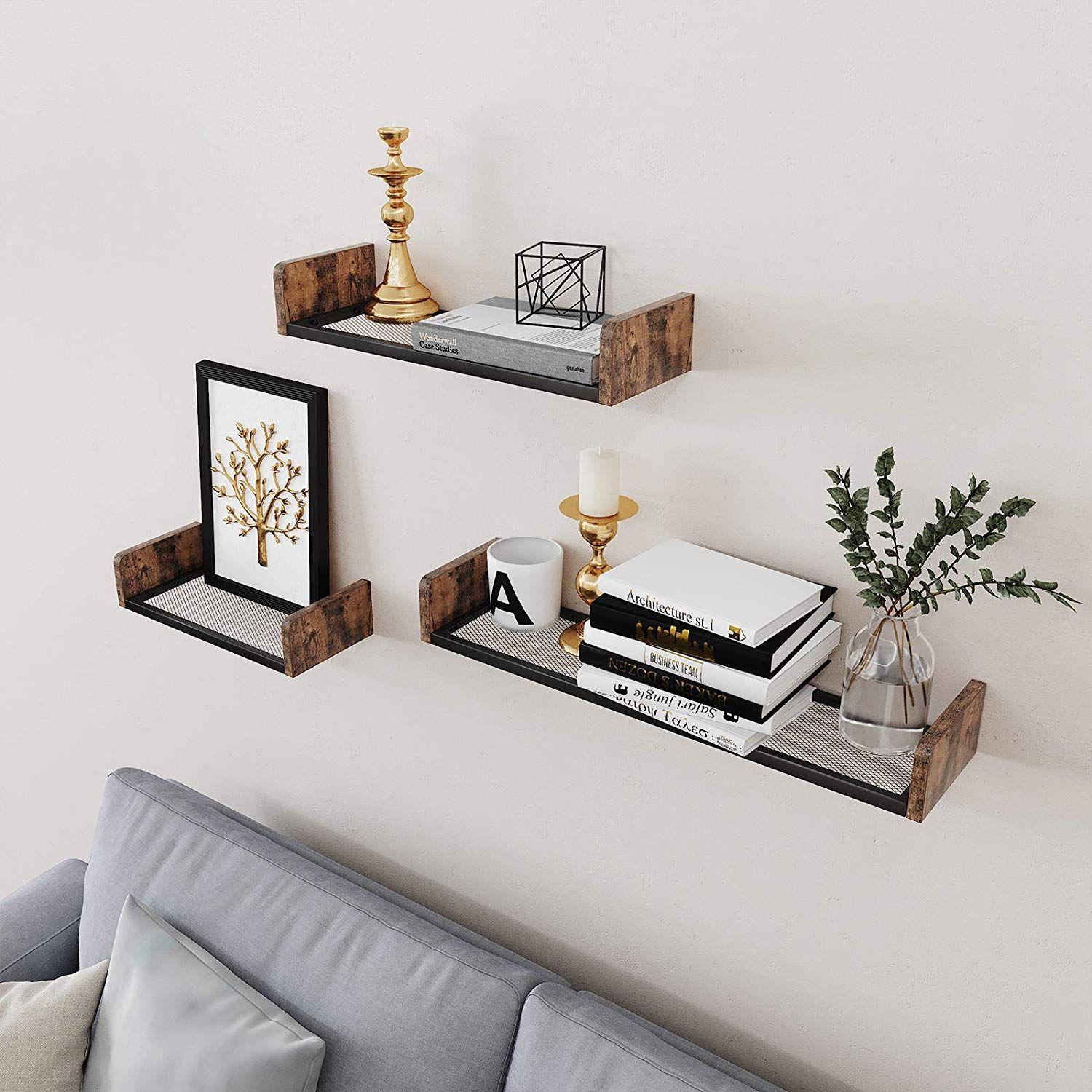 A Delicate Design To Decorate Your Space Shelf Decor Bed
