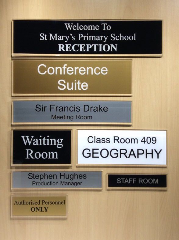 Simple Door Signs For Your Office Door Install Yourself In A - Conference room door signs for offices