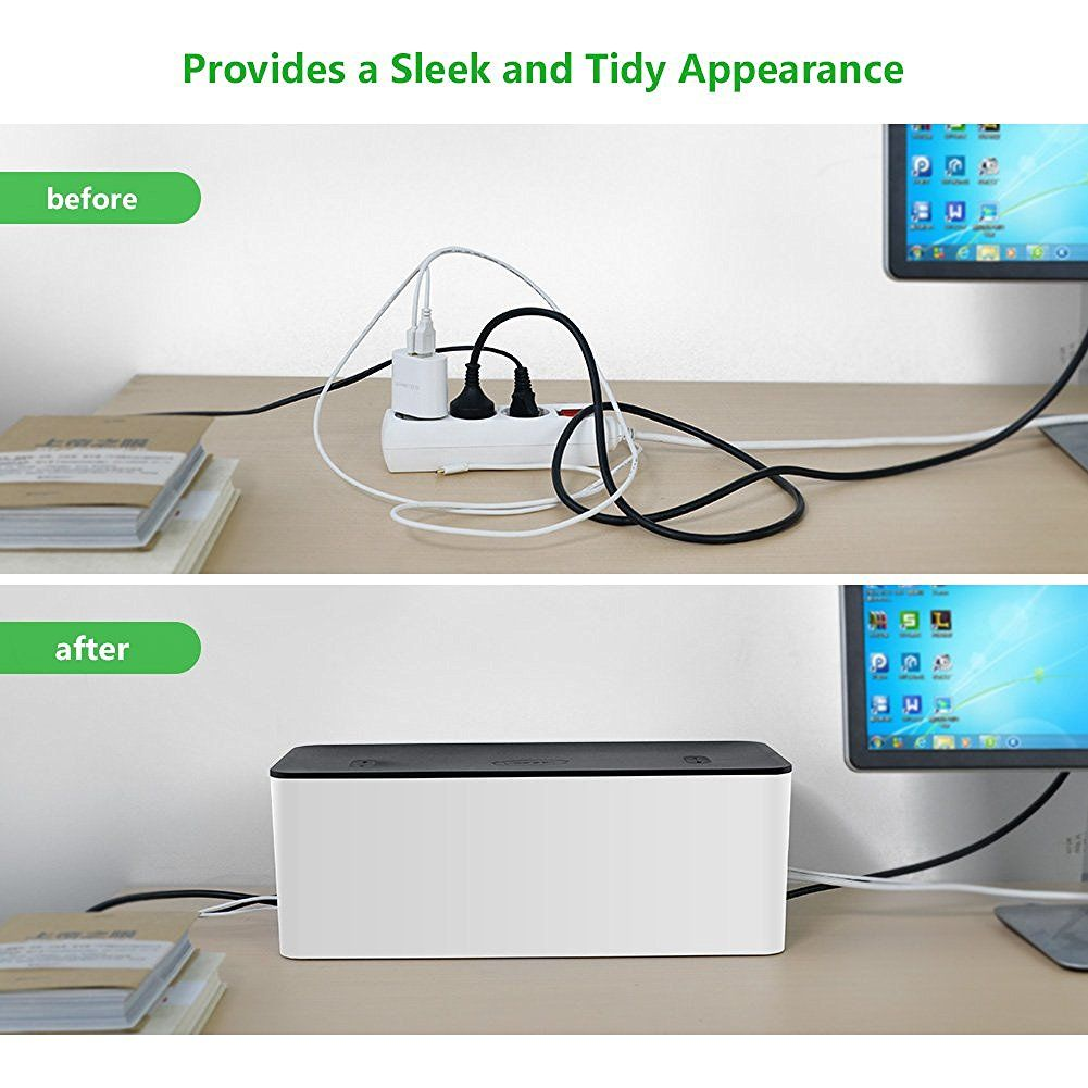 Ugreen Home Electronic Cable Organizer Box