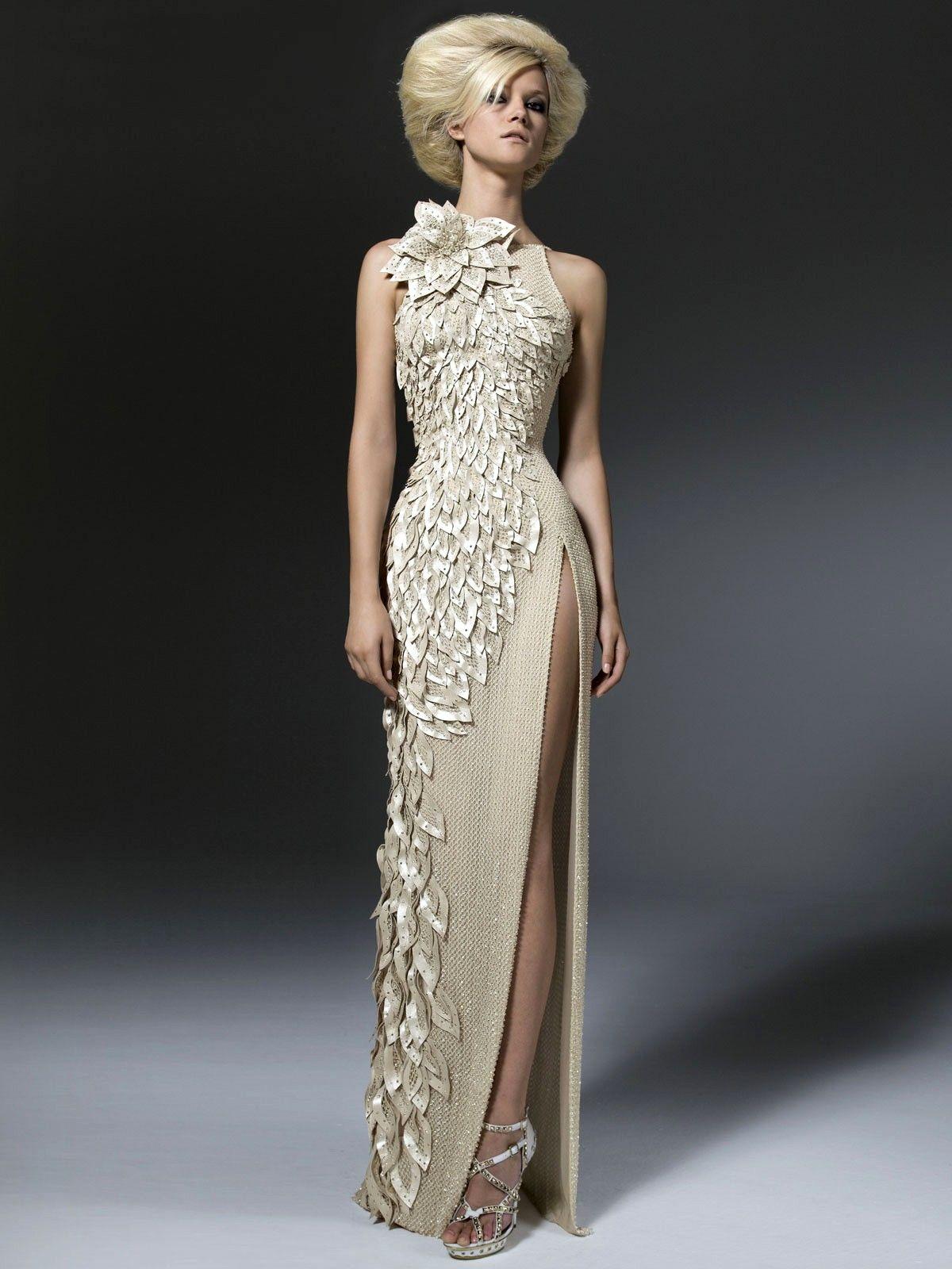 Versace wedding dress  ParisAtelierVersaceReadyToWearCollection  BEAUTY AND THE