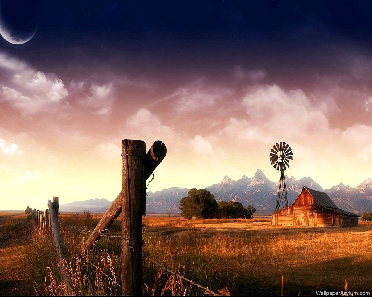 Country backgrounds if you like country life check out for Farmhouse wallpaper