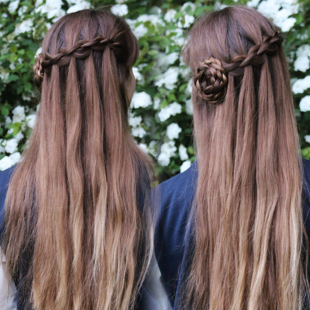 Coiffure Tresse Noeud 3d Waterfall Braid By Yiyayellow Belles Coiffures