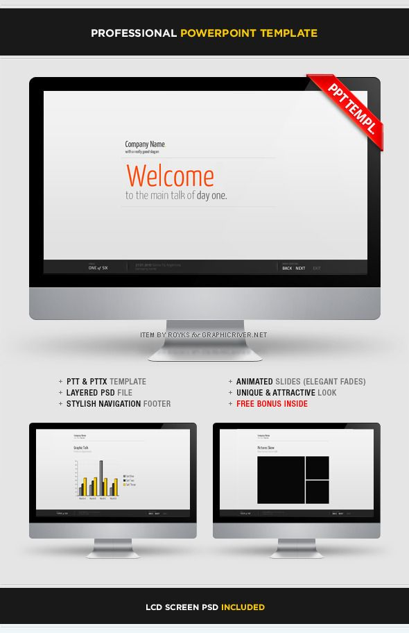 Exo Business Powerpoint Presentation Template Powerpoint - professional powerpoint