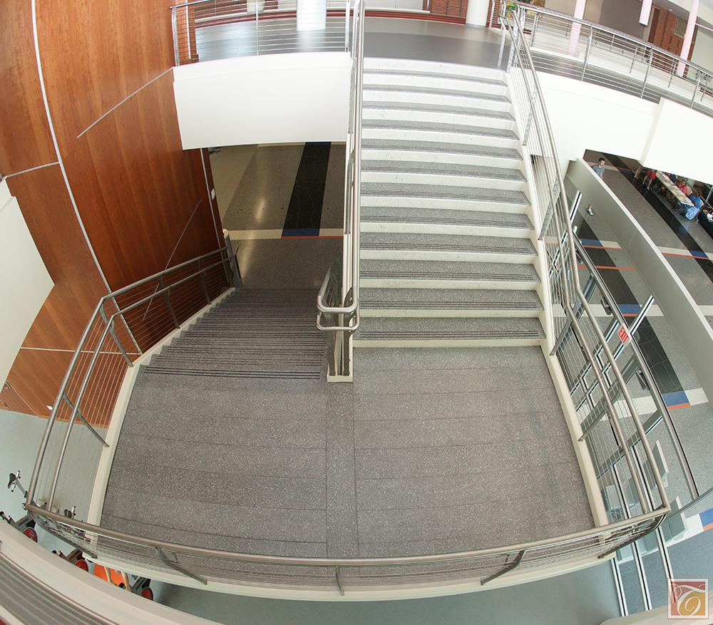 Different Types Of Staircases: There Are Different Types Of Stairs. With Tread And Riser