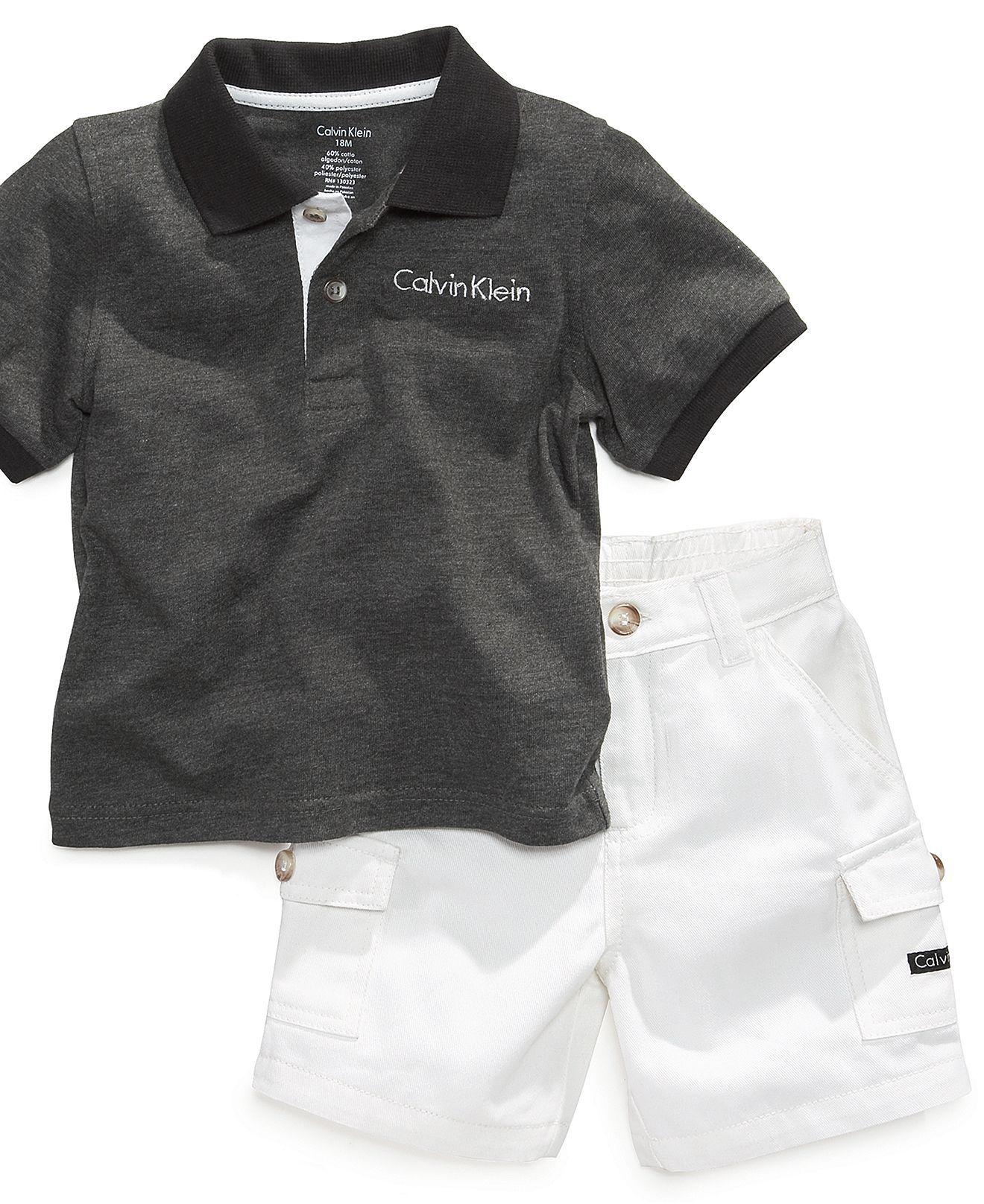 eee32d2cabeb Calvin Klein Baby Set