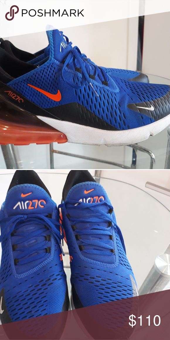 online store c7529 a4a9f Nike sneakers Blue orange c270 Nike Shoes Sneakers | My Posh ...