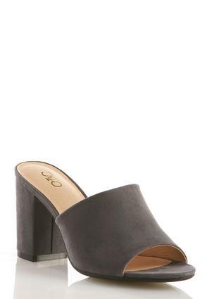 537cd955d28 Cato Fashions Block Heel Mules  CatoFashions