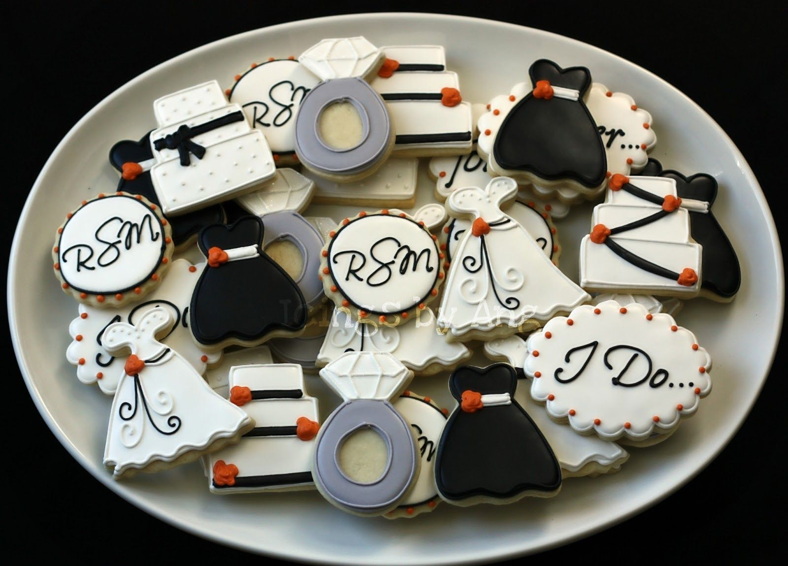 Pin By Deena Killgore On Engagement And Wedding Cookie