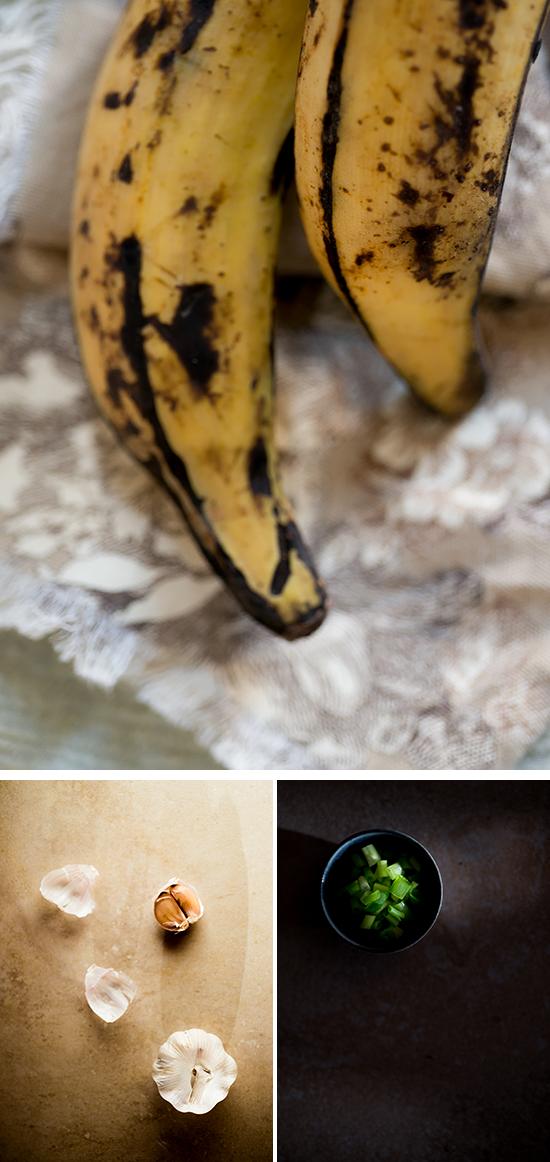 Canoas de Plátano Maduro Rellenas de Berenjena, Receta y Video: Tradicionalmente se hacen fritas, pero estas es la versión más ligera, es también vegetariana.