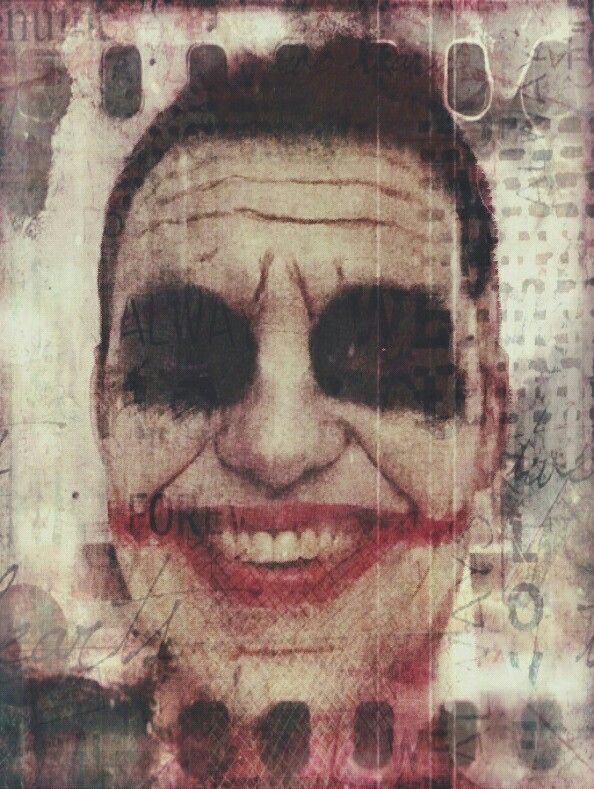 The Joker facepaint madebyjuul