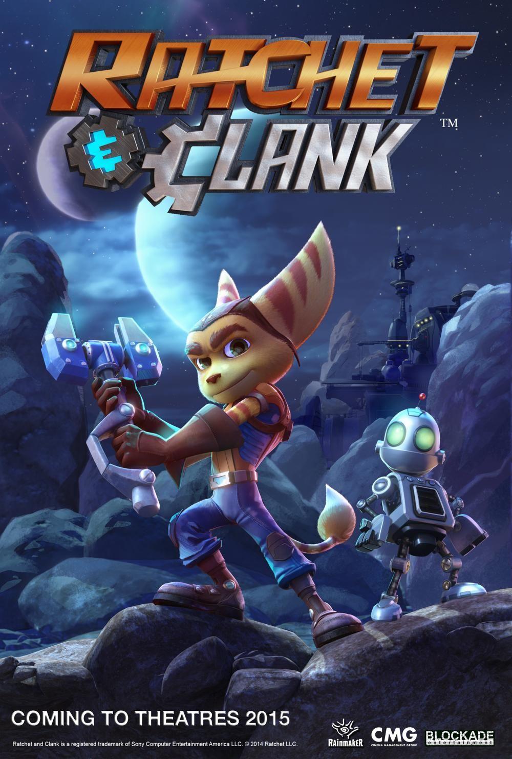 Ratchet Clank Movie Ratchet Movies Animation