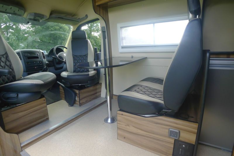 VW Crafter XLWB Camper Van Conversion Race Van Motorhome T5