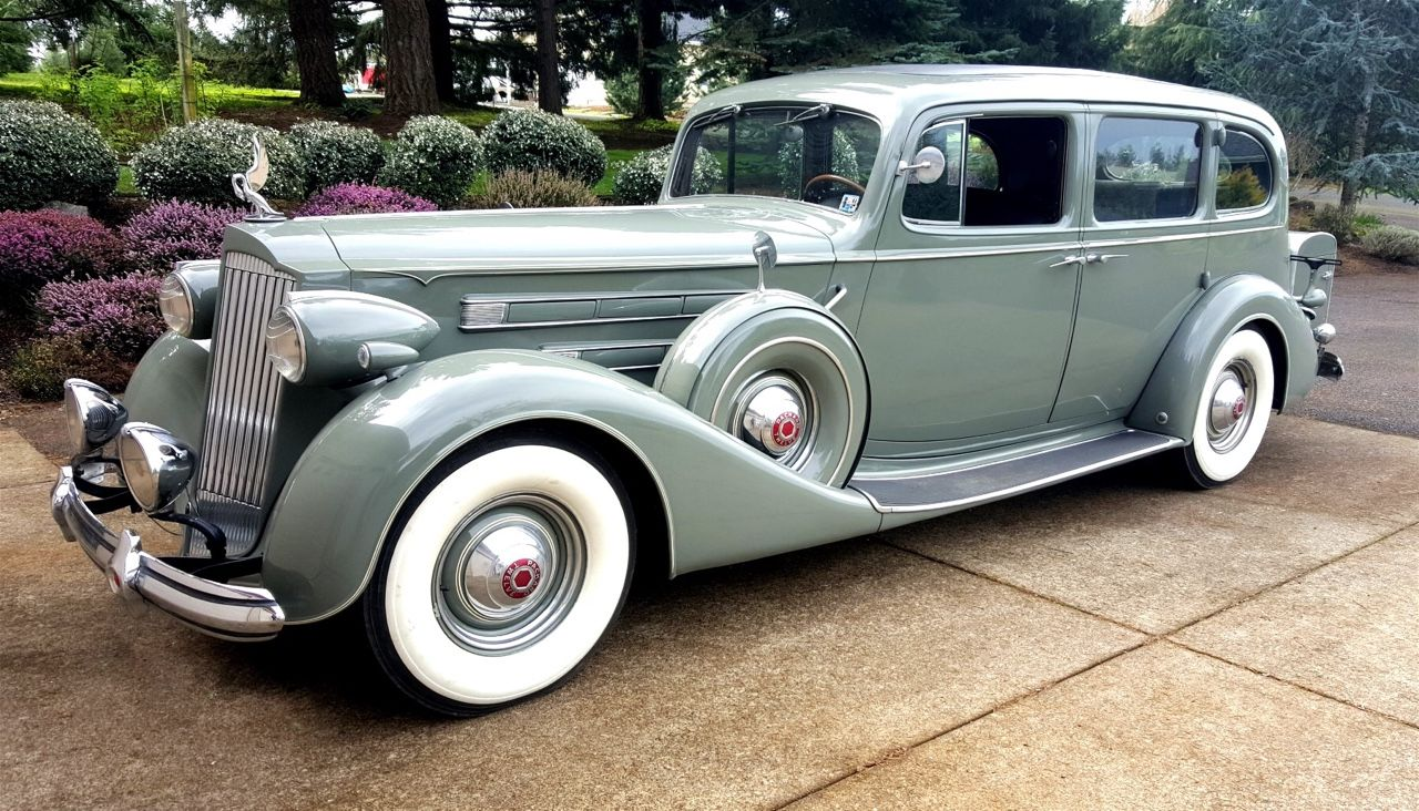 A very beautiful 1937 Packard 508 V 12 Limousine .