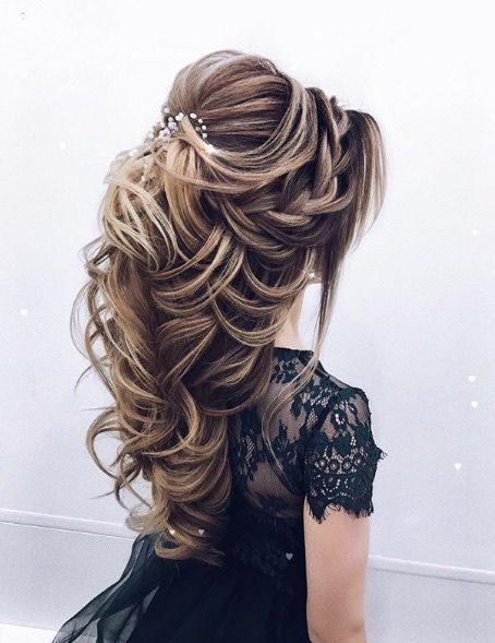 Wedding Hairstyle Simple Featured Hairstyle Elstile El Style Wwwelstileru Wedding