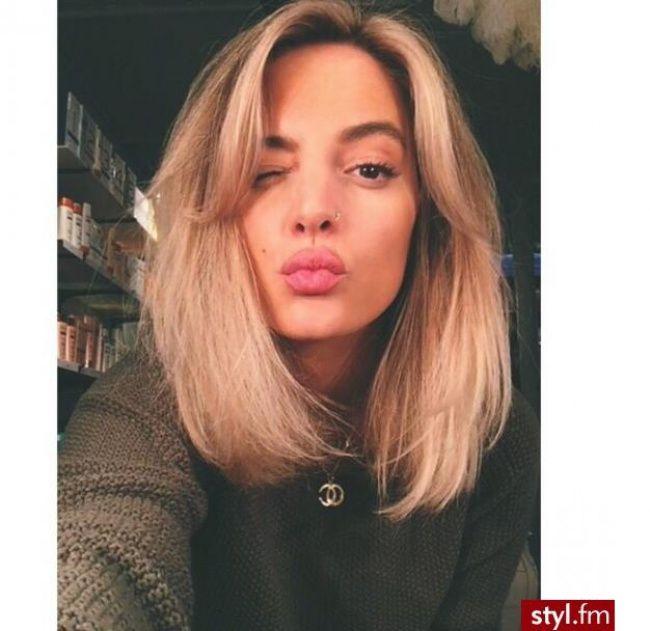 Śliczne fryzury półdługie. 30 super inspiracji z Instagrama - Strona 23