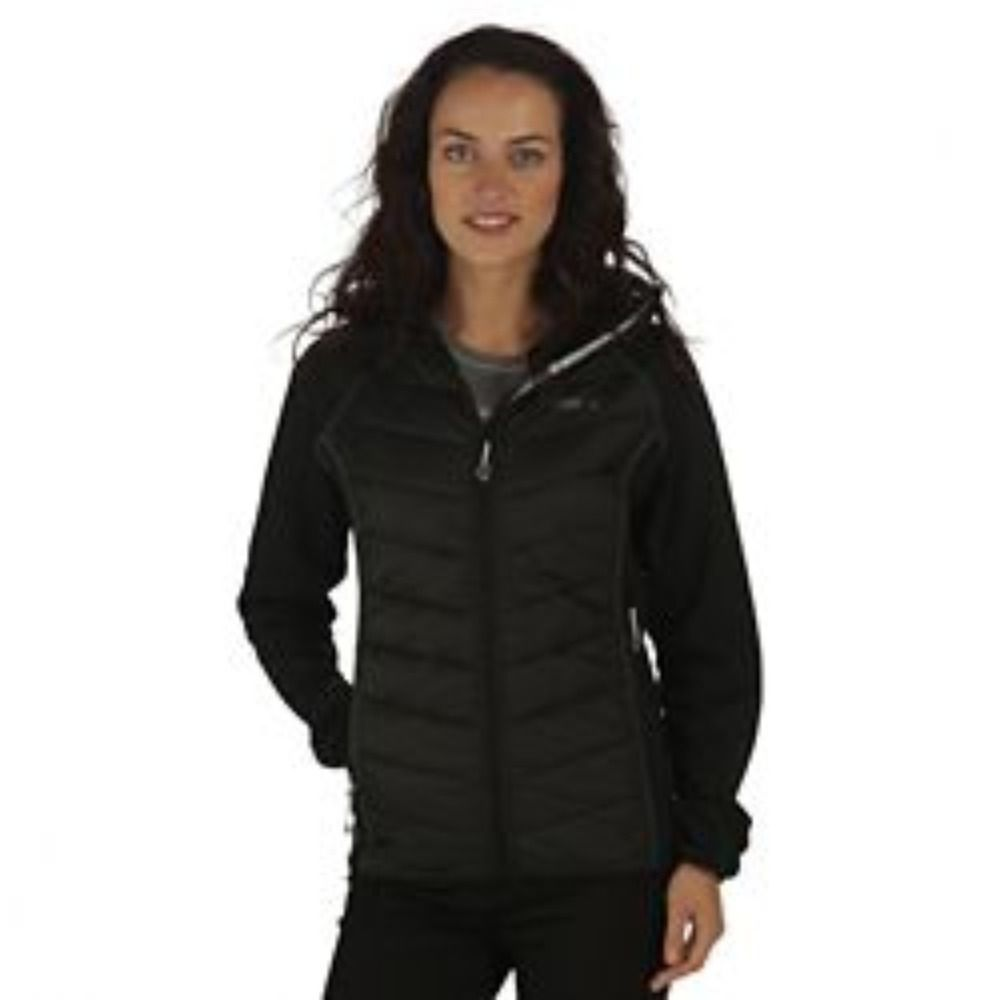 Women S Black Quilted Jacket Size 20