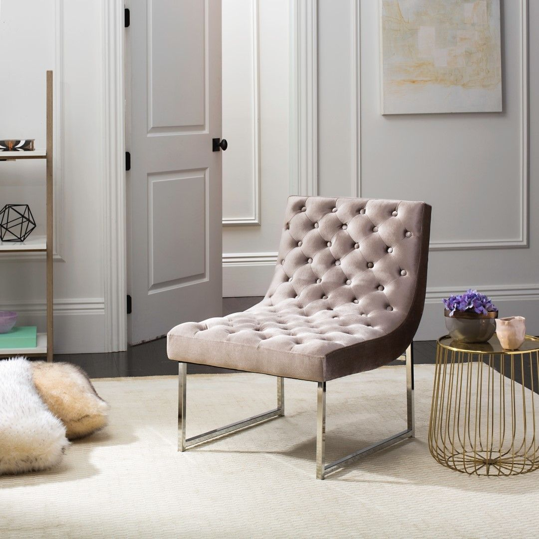 Zeppelin Velvet Tufted Side Chair   Products   Pinterest