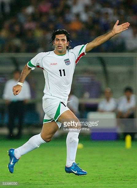 Alireza Vahdi Nikbakht Of Iran During The 2006 Fifa World Cup Asian Qualifiers Match Between Japan And Iran At The Inter Soccer Players Fifa World Cup Football