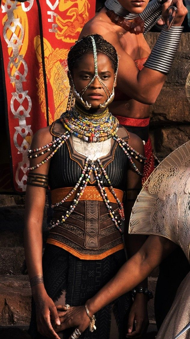 Black Panther Movie Wakanda Ethnic Africa Makeup Party Inspo \u2013 Shuri
