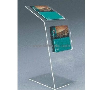 Factory Hot Selling Acrylic Brochure Holder Floor Stand A4 Acrylic