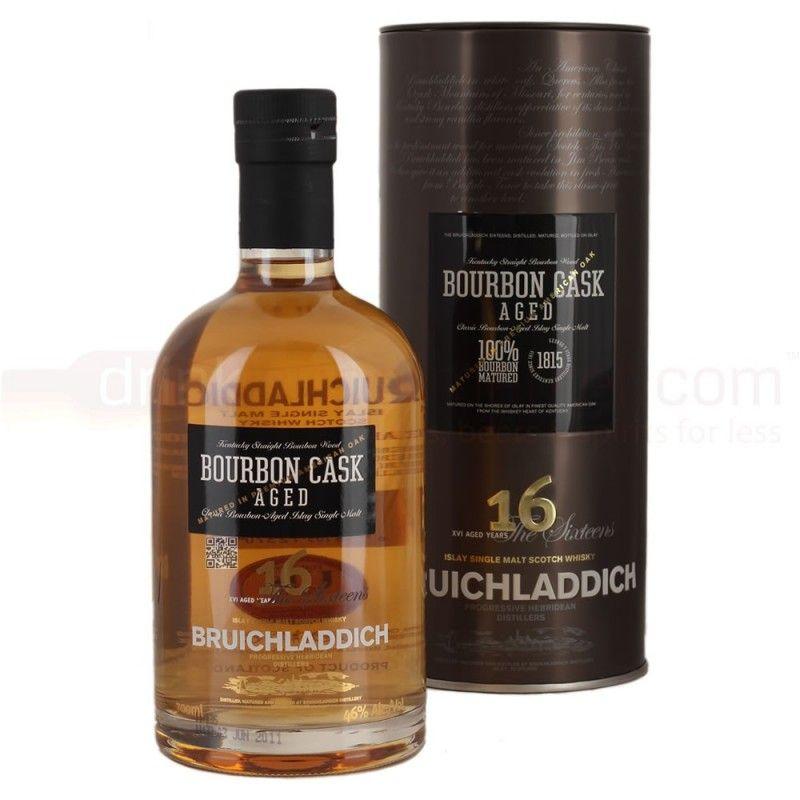 Bruichladdich - 16 Year Old - Bourbon cask aged Islay single malt