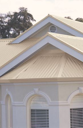 Best Classic Cream Colorbond Roof House Cladding Colorbond 640 x 480