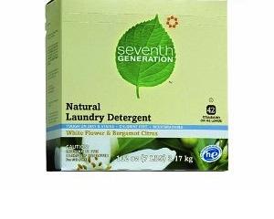Seventh Generation Natural Powder Laundry Detergent White Flower