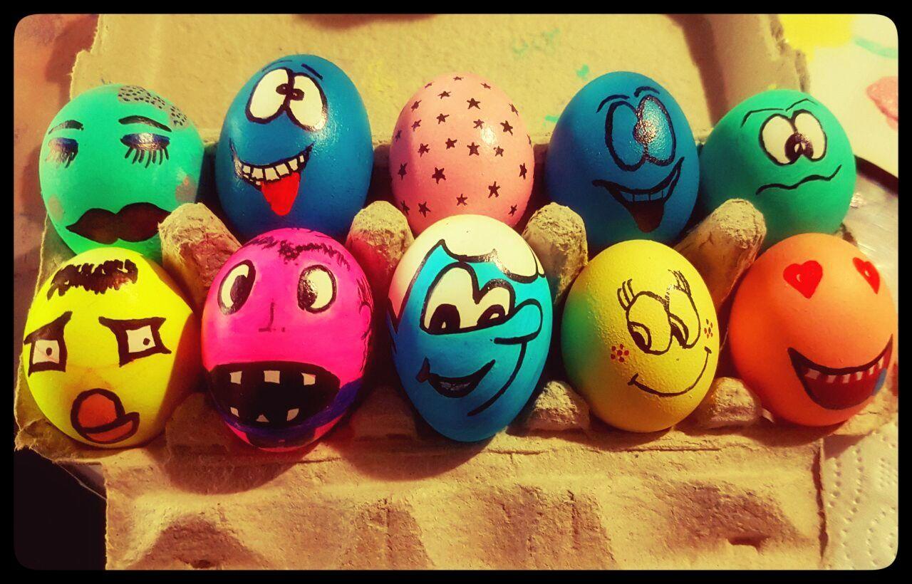 Kırk Uçurma Yumurtası Yumurta Boyama Hobi Pinterest