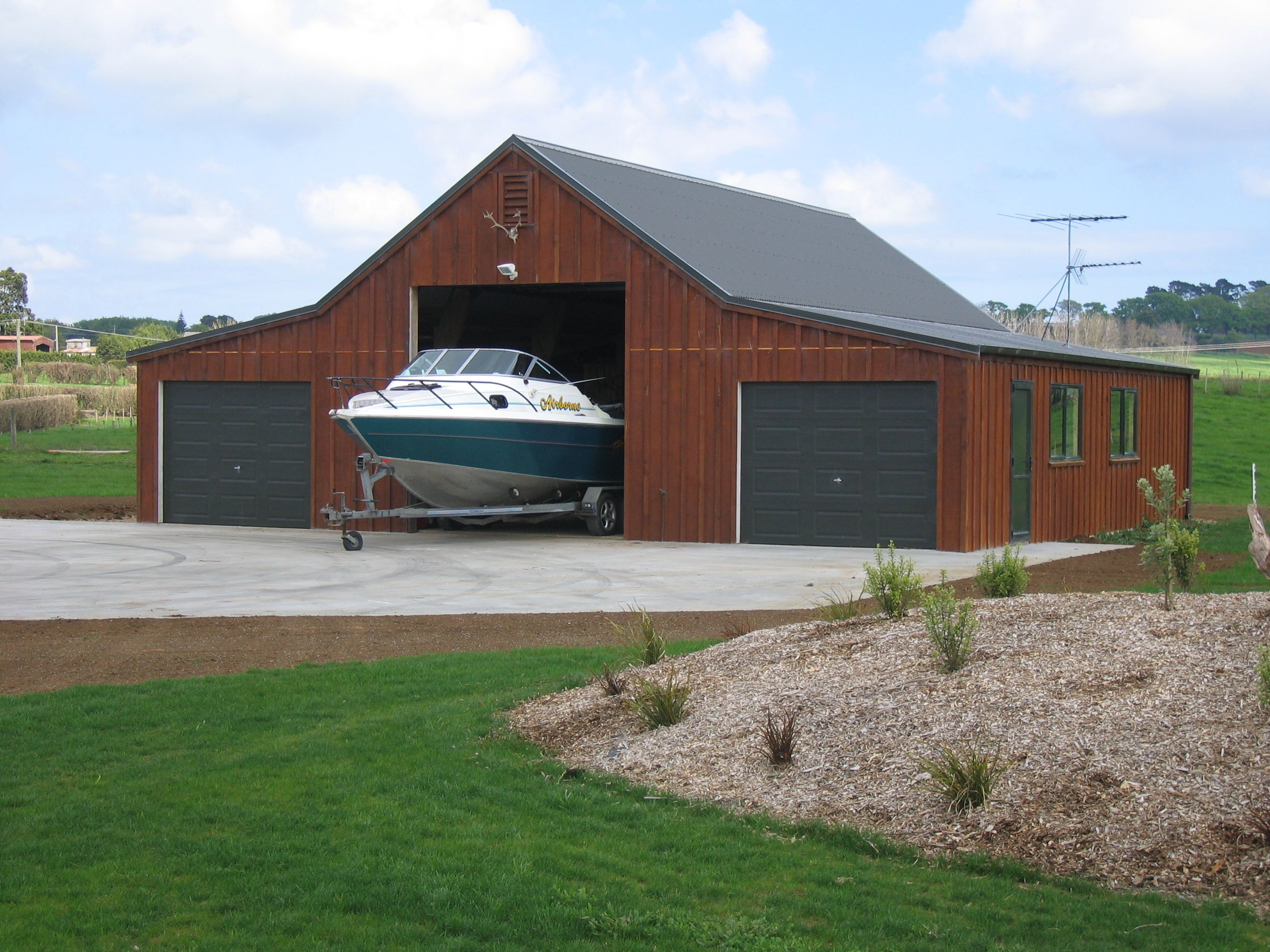 .Customkit. Utility buildings, Shed, Facade house