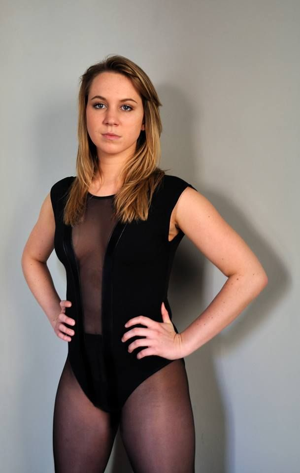 Pantyhose nylons office leotards