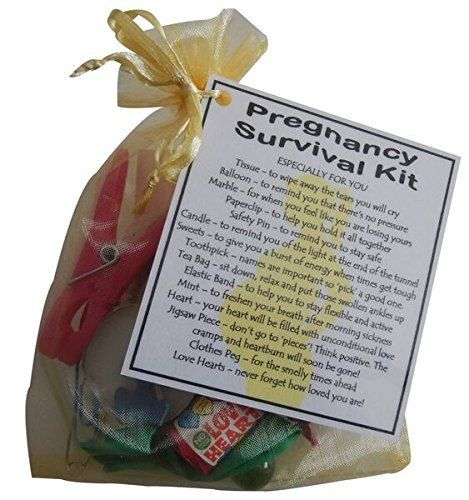 Unique Novelty Survival Kit: Pregnancy Survival Kit Gift Small Novelty Gift By