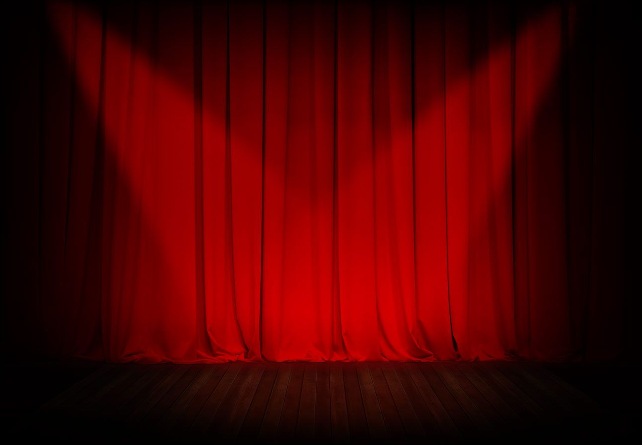 Spotlight Ready To Hang Sheer Curtains Spotlight Empty Stage Google Search Theater Velvet Curtains