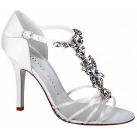 Spectacular Martinez Valero Crystal Bridal Shoes Cheap Wedding Gowns Dresses