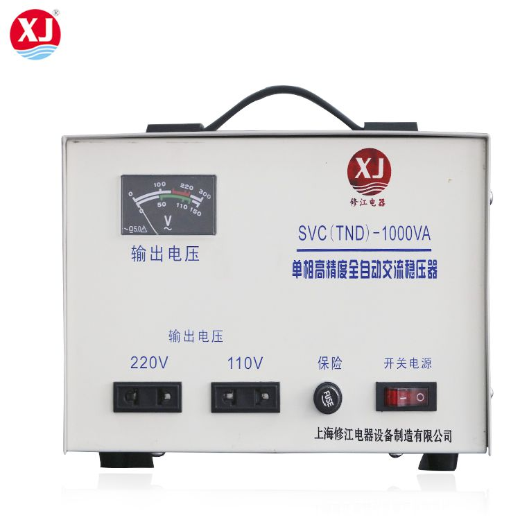 Single Phase Servo Motor Low Voltage Stabilizer 230v 50hz Regulators Stability Electrical Equipment